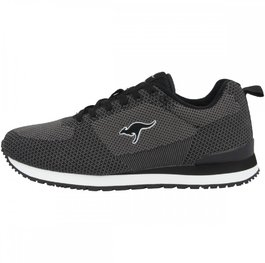 Retro Racer Woven jet black / steel grey